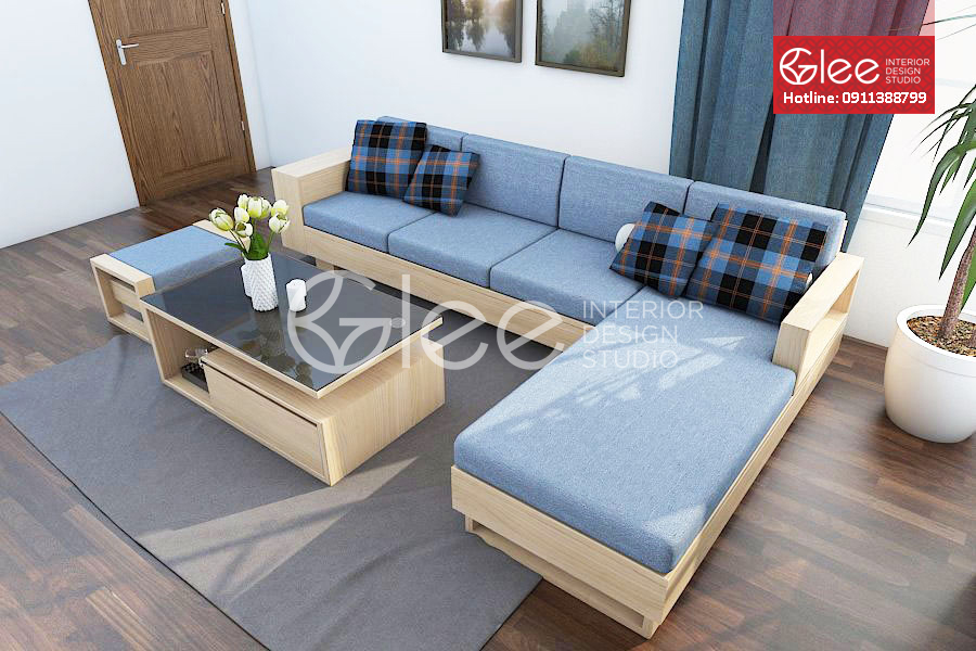 sofa go hien dai