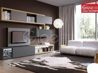kệ tivi kết hợp tủ quần áo gtv22-2